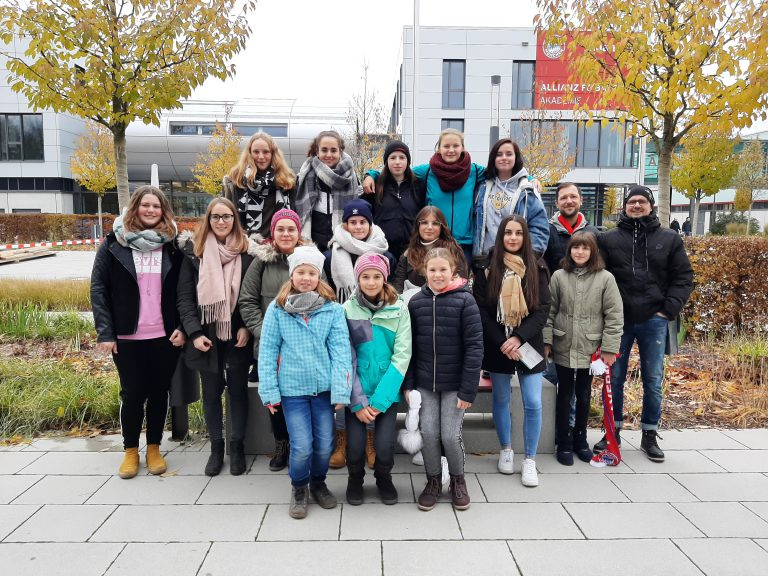 FVW Juniorinnen bei den FC Bayern München Damen